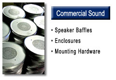 Commercial Sound Products